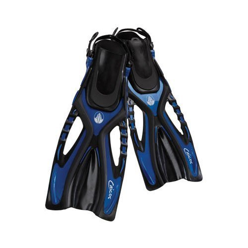AKONA Caicos Dive Fins Large X Large Blue