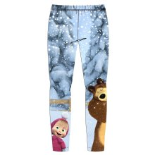 Masha and the Bear Winter Leggings