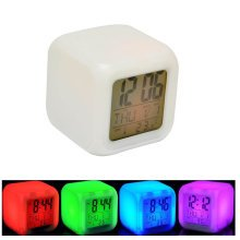 Vivo Multicoloured Alarm Clock | Colour Changing Digital LED Clock