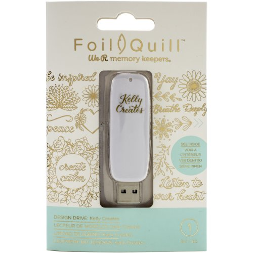 We R Memory Keepers Foil Quill Usb Artwork Drive-Kelly Creates