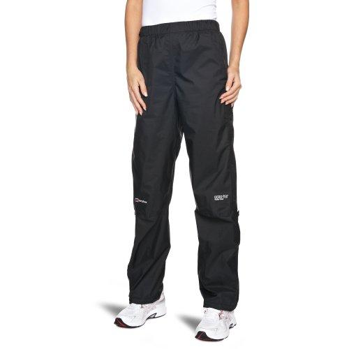 Berghaus Women's Paclite Gore-Tex Waterproof Trousers Over Trousers - Black, Size 14 - Leg 31