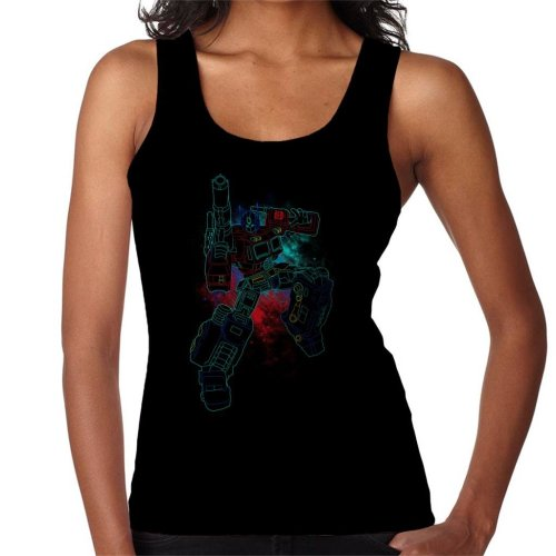 Shadow Of Optimus Prime Spray Art Transformers Women's Vest