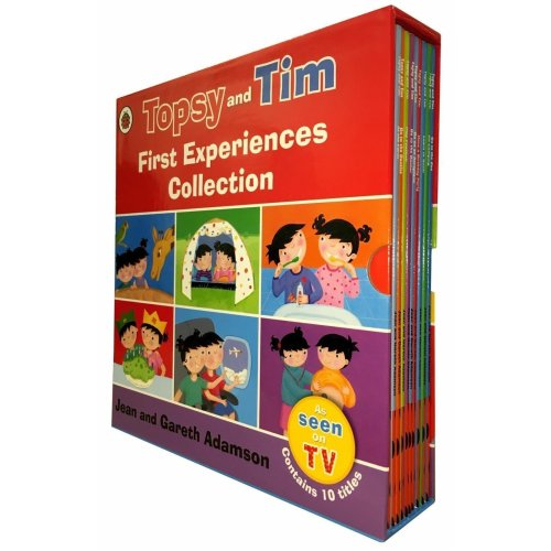 Topsy and Tim First Experiences 10 Books Collection Set