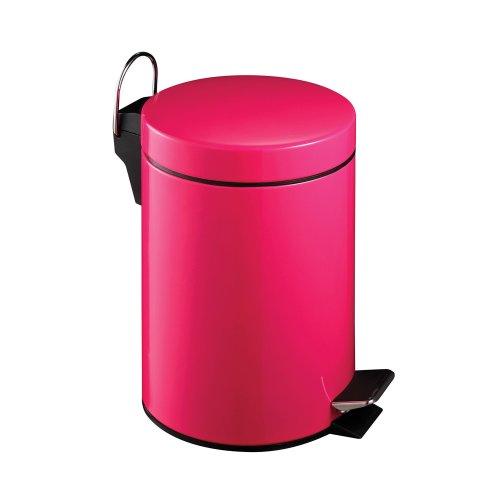 Premier Housewares Pedal Bin, 3 L - Hot Pink