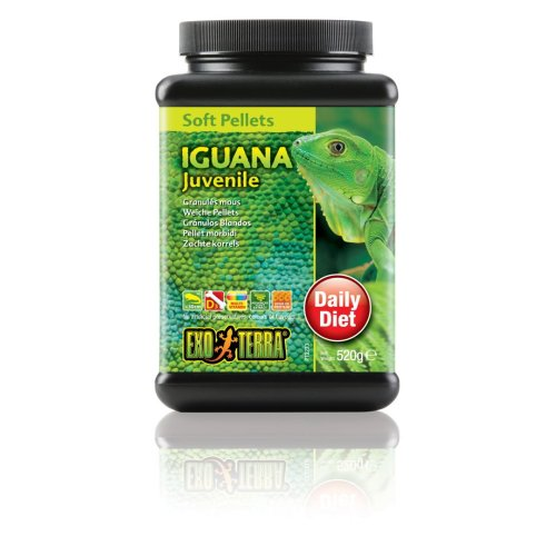 Exo Terra Soft Pellets Juvenile Iguana Food 560g