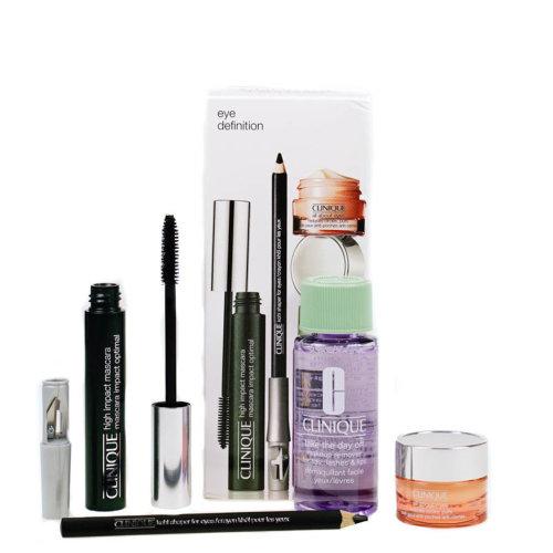 Clinique Eye Makeup Set - Mascara, Khol, Makeup Remover & All About Eyes Cream