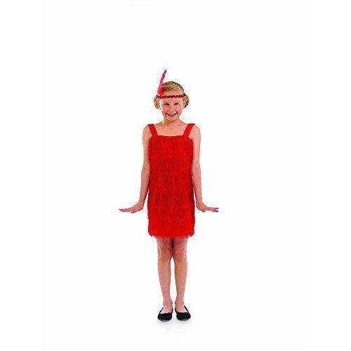 ca1fe14e10318 Fun Shack Child Red Flapper Costume - Age 10 - 12 Yrs (xl) - Dress Girls  Fancy - dress flapper girls costume fancy red 1920s charleston kids on OnBuy