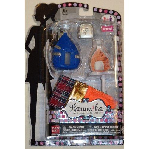 Harumika Handbag Collection 30683 Blue Bag