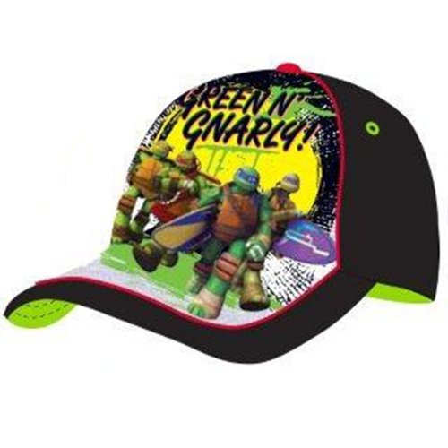 Turtles Baseball Cap - Black