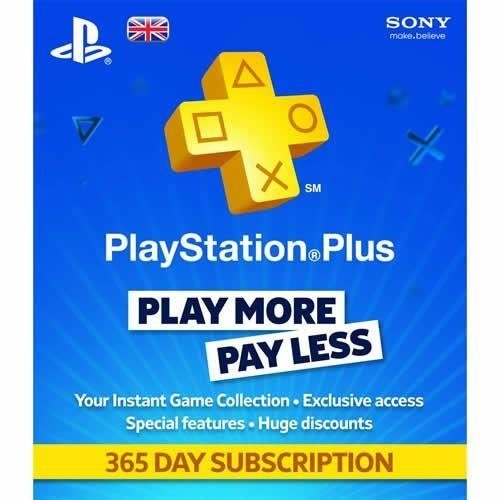 Playstation Plus Card Hang 365 Days/GBR