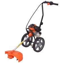 vidaXL Brush Cutter Orange and Black 52 cc 1.9 kW