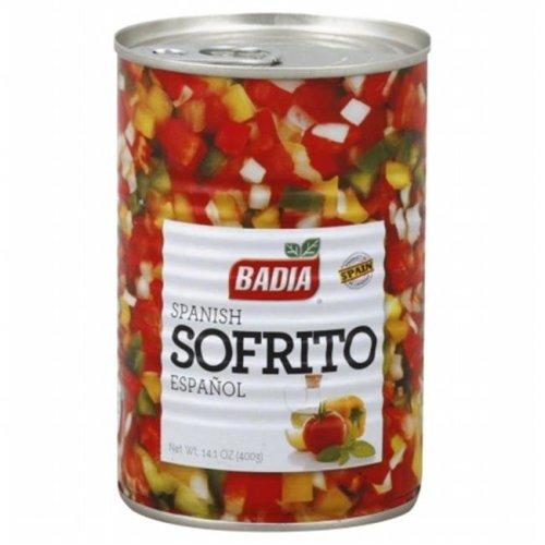 Badia Seasoning Sofrito Spanish-14.1 Oz -Pack Of 12