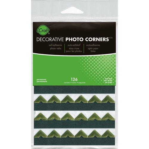 Decorative Photo Corners 126/Pkg-Gold