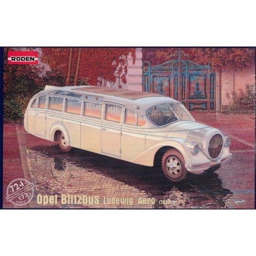 Roden 724Model Kit Opel Blitz Bus Ludewig Aero (1937)