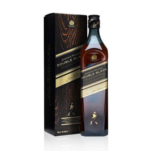 Johnnie Walker Double Black Label Blended Scotch Whisky, 70cl