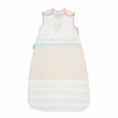 The Gro Company Pink with Hear 2.5 tog - 0-6 Months