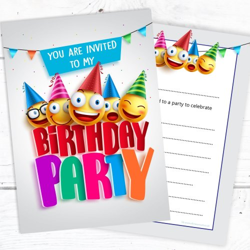 Kids Birthday Party Invites