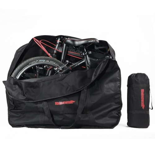Selighting Folding Bike Travel Bag Bicycle Carrier Case Outdoors Carrying Bag for 20inch Bike, Black