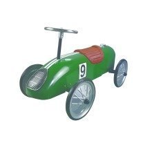 Green Retro Racer - Ride on