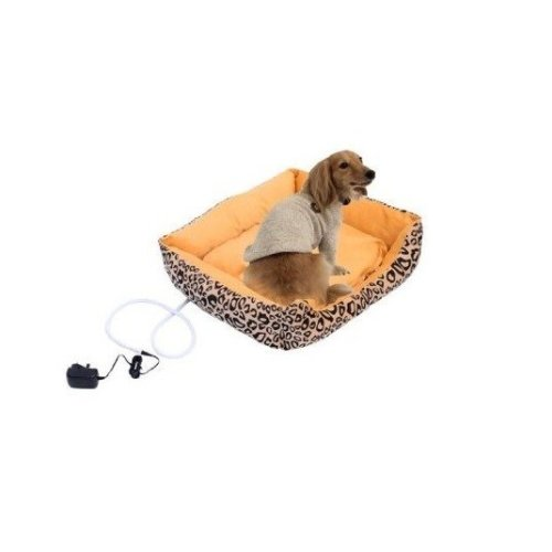 Pawhut Dog Heated Bed Electric / Cat Kitten Heater Pad Sleeper Mat Safe