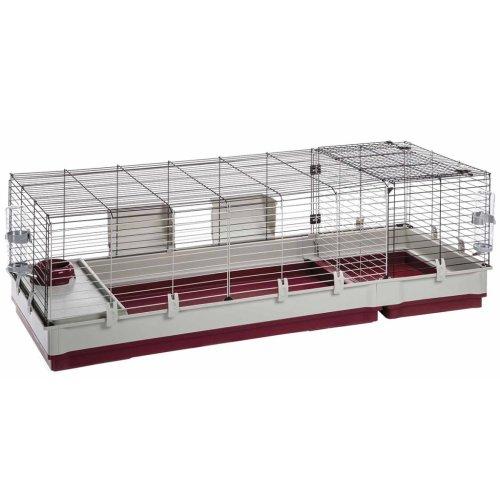 Ferplast Rabbit Cage Krolik 160 162x60x50 cm Small Animal House Hutch 57072670