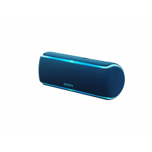 Sony Portable Wireless Speaker BLUE SRS-XB21 Extra Bass and Lighting