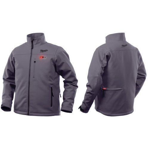 Milwaukee M12HJGrey3-0 Premium Heated Jacket