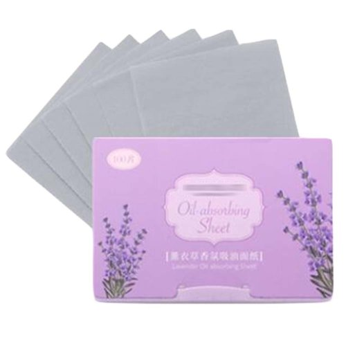Lavender Oil Absorbing Sheets Face Oil Control, 300 Sheets