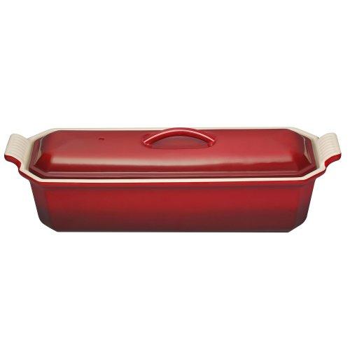 Le Creuset Foie Gras Terrine Dish, 32 cm - Cerise