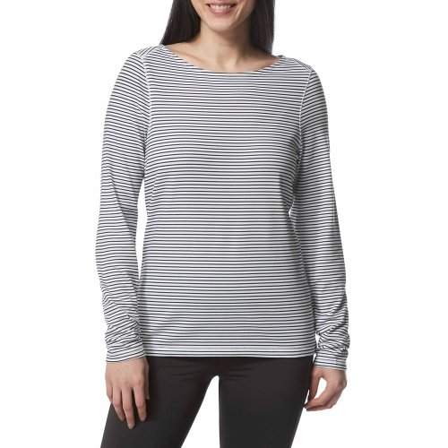 Craghoppers Womens  NosiLife Erin Long Sleeved Top Print Stripe (UK16)