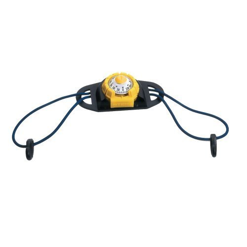 E.S. Ritchie X-11Y-TD Ritchie SportAbout Compass with Kayak Holder - Yellow-Black