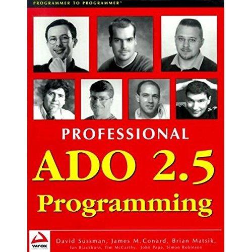 Professional ADO 2.5 Programming (Wrox Professional Guide)