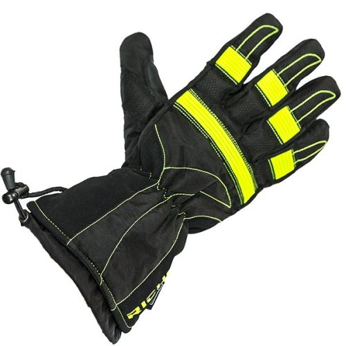 Richa Probe Yellow / Black Waterproof Motorbike Motorcycle Gloves