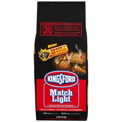 Kingsford 31228 6.2 lbs. Match Light Charcoal Briquettes