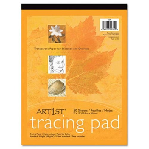 Pacon 2324 Art1st Parchment Tracing Paper  19 x 24  White  50 Sheets