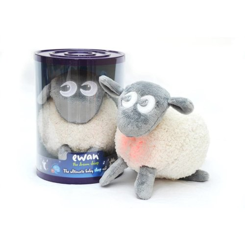 Easidream Grey Ewan The Dream Sheep | Baby Sleep Aid