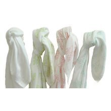 MuslinZ 120cm Bamboo/Organic Cotton Luxury Muslin Swaddle