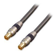 Lindy 37771 1m Coax Coax Grey coaxial cable