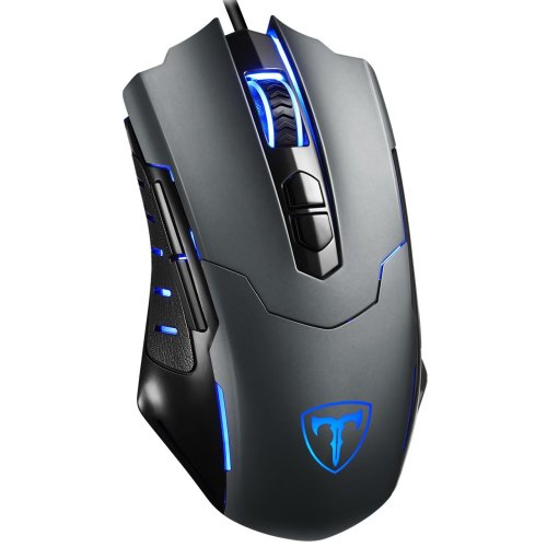 Gaming Mouse, [7200 DPI][Programmable] PICTEK 7 Buttons Professional Wired PC Computer Mouse, Desktop Laptop Game Mouse, Ergonomic Gaming Mice,...