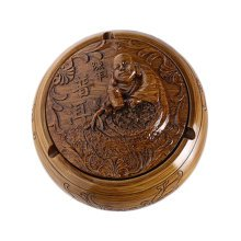 Creative Resin Maitreya Buddha Ashtray Retro Home Decoration Great Gift