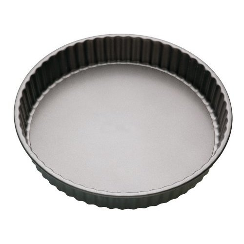 18cm Non-stick Fluted Loose Base Round Quiche Tin - 7 Nonstick Master Class -  tin 7 quiche nonstick fluted loose base master class flan masterclass