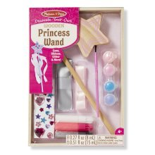 Melissa & Doug Decorate-your-own Wooden Princess Wand - Decorateyourown Fairy -  princess melissa doug wooden wand decorateyourown fairy sceptre