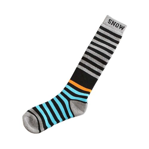 Adult Outdoor Sport Classic Stripes Climbing Skiing Cycling Socks, One Size