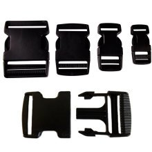 PLASTIC DELRIN SIDE RELEASE BUCKLES CLIPS FOR WEBBING - 20MM/25MM/40MM/50MM[40mm,1]