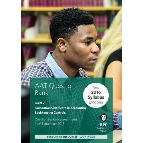 AAT Bookkeeping Controls: Question Bank