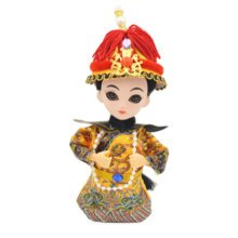 Chinese Traditional Artistic Dolls Handmade Collection Best Gift,K