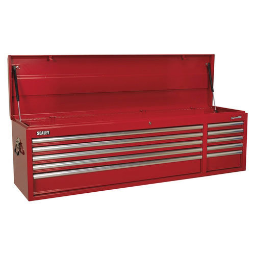 Sealey AP6610 10 Drawer Heavy-Duty Topchest with Ball Bearing Runners - Red