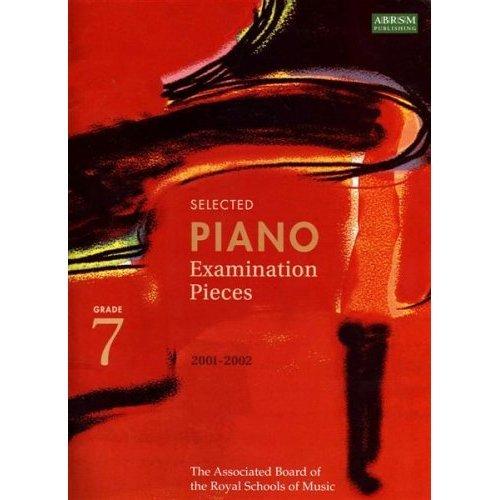 Selected Piano Examination Pieces 2001-02 Grade 7