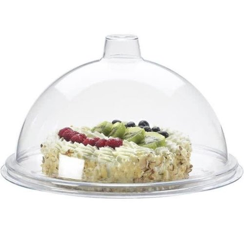 7 in. Gourmet Cover - Clear