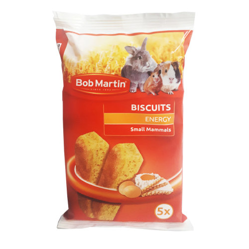 Bob Martin Energy Egg Biscuits for Small Animals - Rabbits, Guinea Pigs and Hamsters